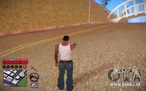 C-HUD by ComPot pour GTA San Andreas cinquième écran