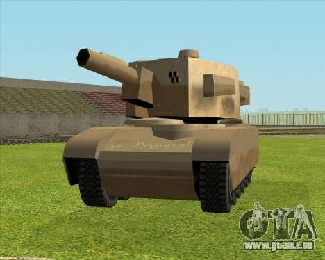Rhino tp. Destructeur V.2 pour GTA San Andreas