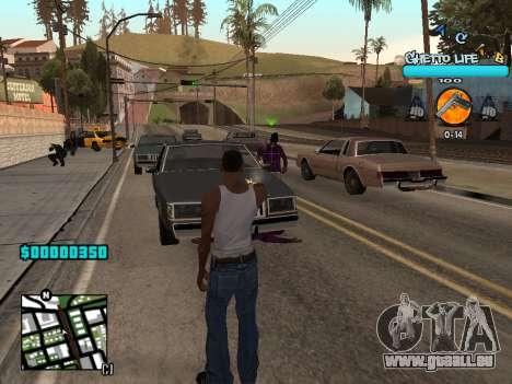 C-HUD new A.C.A.B für GTA San Andreas dritten Screenshot