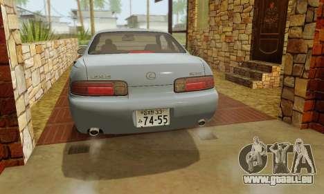 Lexus SC300 v1.01 [ImVehFT] pour GTA San Andreas vue de dessus