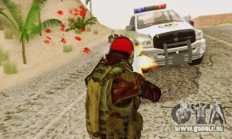 Blood On Screen für GTA San Andreas siebten Screenshot