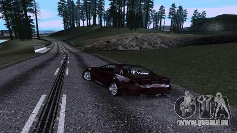 New Roads v3.0 Final pour GTA San Andreas troisième écran