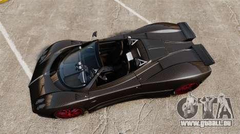 Pagani Zonda C12 S Roadster 2001 PJ3 für GTA 4 rechte Ansicht