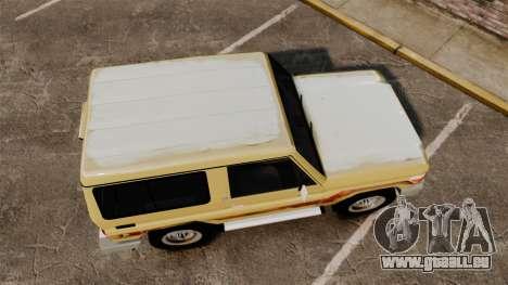 Toyota Land Cruiser 70 2014 pour GTA 4 est un droit