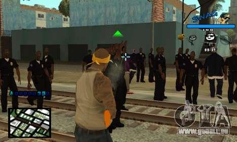 C-HUD SWAG für GTA San Andreas zweiten Screenshot