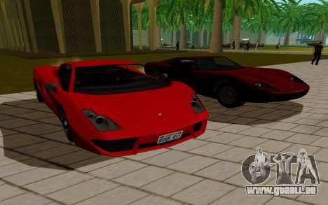 GTA 5 Pegassi Vacca pour GTA San Andreas laissé vue