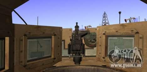 M-ATV из Call of Duty: Geister für GTA San Andreas Seitenansicht
