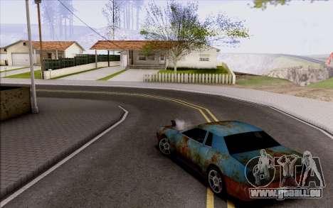 Elegy by Swizzy pour GTA San Andreas vue arrière