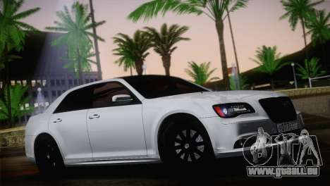 Chrysler 300 SRT8 Black Vapor Edition pour GTA San Andreas