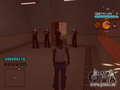 C-HUD new A.C.A.B für GTA San Andreas sechsten Screenshot