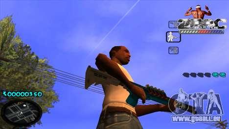 C-HUD 2PAC pour GTA San Andreas cinquième écran