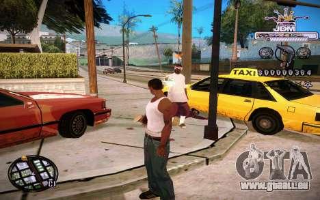 C-HUD JDM für GTA San Andreas zweiten Screenshot
