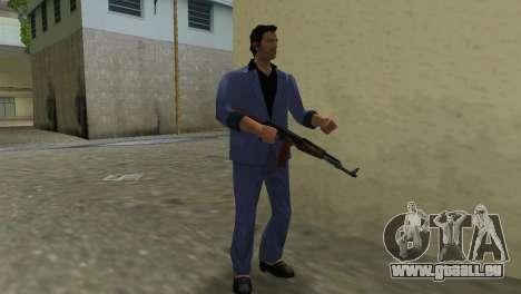 Kalachnikov Modernisé pour GTA Vice City septième écran