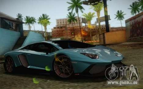 Lamborghini Aventador LP720-4 2013 für GTA San Andreas Motor