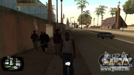 C-HUD Kings of Rap pour GTA San Andreas