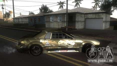 Elegy Fail Crew by Black pour GTA San Andreas laissé vue