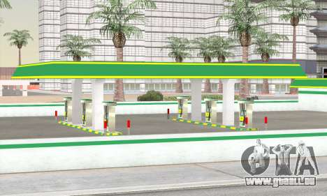 Remplissage dans le style de WOG pour GTA San Andreas quatrième écran