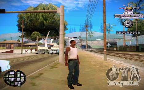 C-HUD JDM für GTA San Andreas