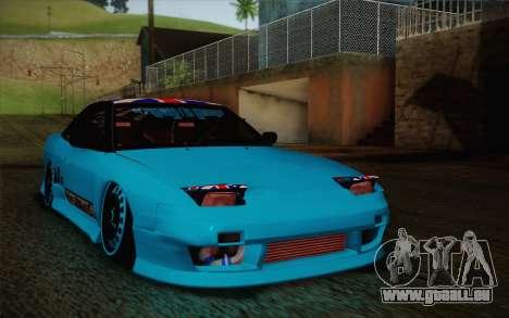 Nissan 240SX Drift Stance pour GTA San Andreas laissé vue