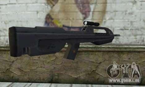 Halo 2 Battle Rifle pour GTA San Andreas deuxième écran