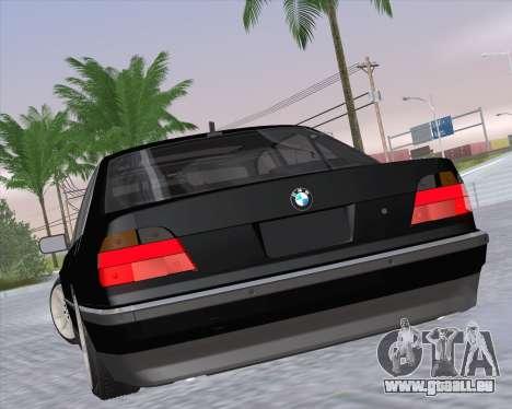 BMW 7-series E38 pour GTA San Andreas laissé vue