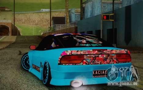 Nissan 240SX Drift Stance pour GTA San Andreas vue de droite