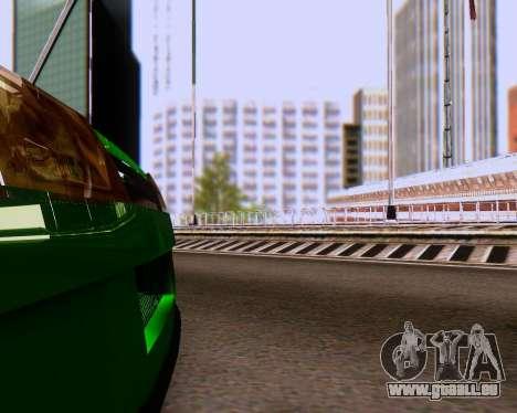 VAZ 2108 Tuneable für GTA San Andreas Unteransicht