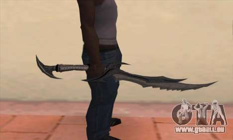 Das Schwert von Skyrim für GTA San Andreas dritten Screenshot