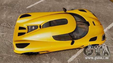 Koenigsegg Agera TE [EPM] pour GTA 4 est un droit