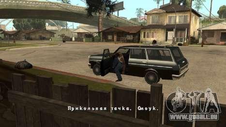 Neue schriftart V.2 für GTA San Andreas her Screenshot