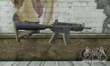 M4A1 S - System für GTA San Andreas zweiten Screenshot