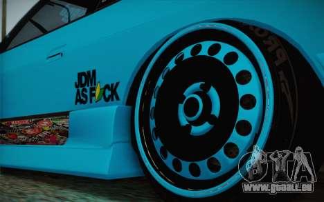 Nissan 240SX Drift Stance pour GTA San Andreas vue arrière