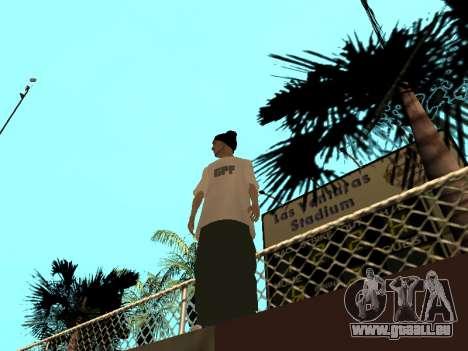 Haut Tracer GPF-Team für GTA San Andreas zweiten Screenshot