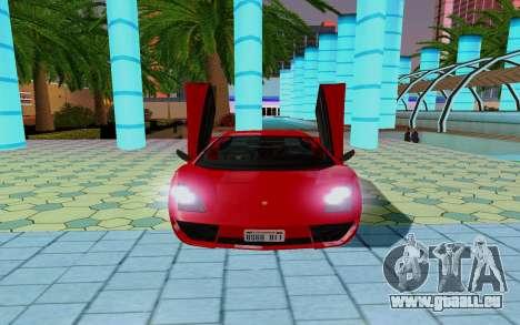 GTA 5 Pegassi Vacca pour GTA San Andreas vue de côté