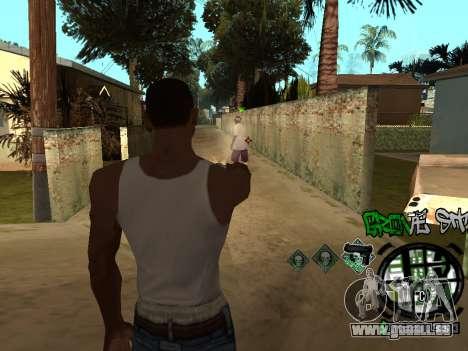 C-HUD Groove Street für GTA San Andreas sechsten Screenshot