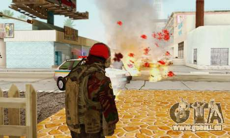 Blood On Screen pour GTA San Andreas