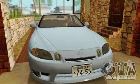 Lexus SC300 v1.01 [ImVehFT] pour GTA San Andreas vue arrière