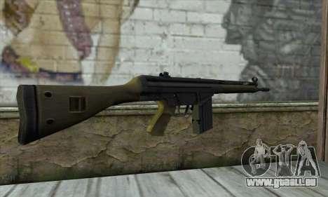 G3A3 für GTA San Andreas zweiten Screenshot