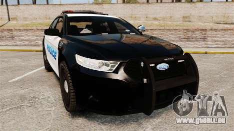 Ford Taurus Police Interceptor 2013 [ELS] pour GTA 4