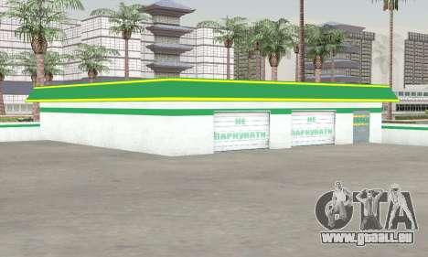 Remplissage dans le style de WOG pour GTA San Andreas deuxième écran