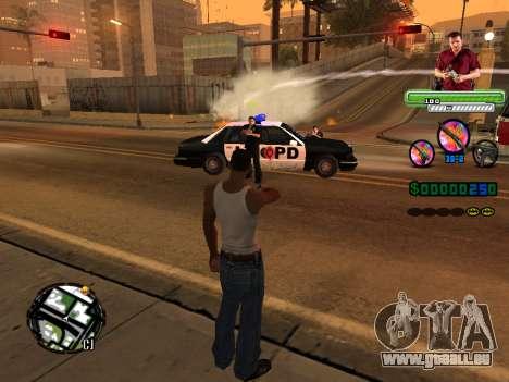 C-HUD Michael (GTA V) pour GTA San Andreas cinquième écran