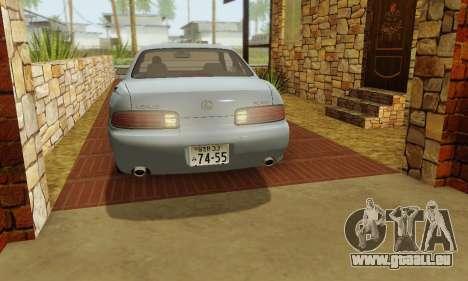 Lexus SC300 v1.01 [ImVehFT] pour GTA San Andreas vue de côté