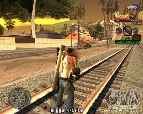 C-HUD Niggas pour GTA San Andreas deuxième écran