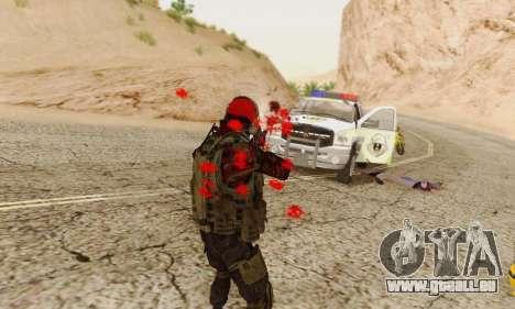 Blood On Screen pour GTA San Andreas sixième écran