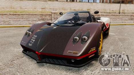 Pagani Zonda C12 S Roadster 2001 PJ4 für GTA 4