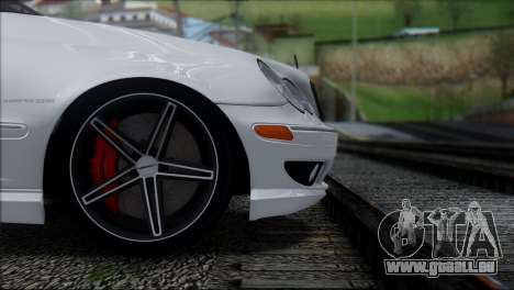 Mercedes-Benz C32 Vossen pour GTA San Andreas vue arrière