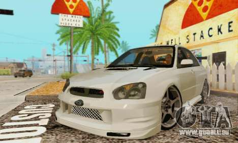 Subaru Impreza WRX Stock pour GTA San Andreas