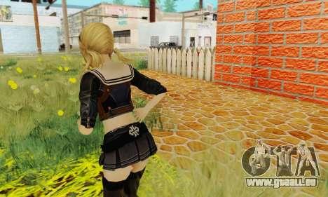 Babydoll Skin pour GTA San Andreas quatrième écran