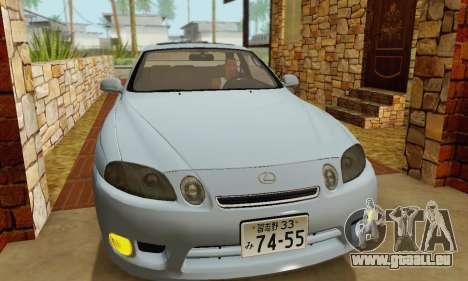 Lexus SC300 v1.01 [ImVehFT] pour GTA San Andreas vue intérieure