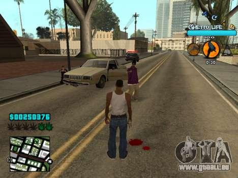 C-HUD new A.C.A.B für GTA San Andreas her Screenshot